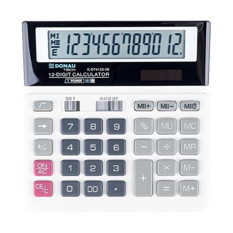 Kalkulator Donau Tech K-DT4125-09 biurowy 12 p.-26467