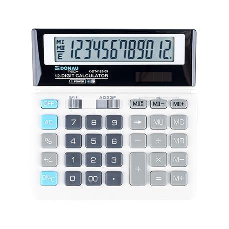 Kalkulator Donau Tech K-DT4126-09 biurowy 12 p.-26465