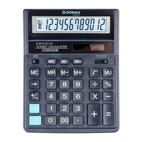 Kalkulator Donau Tech K-DT4127-01 biurowy 12 p.-26461