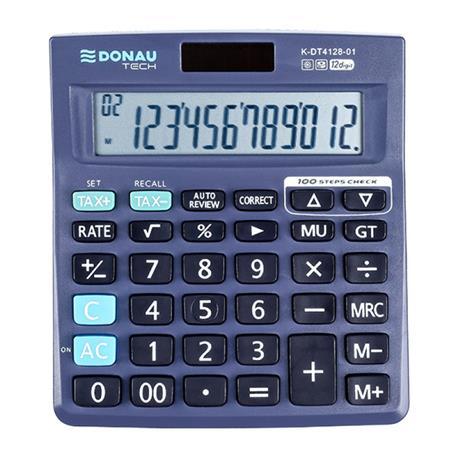 Kalkulator Donau Tech K-DT4128-01 biurowy 12 p.-26513