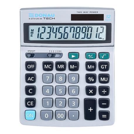 Kalkulator Donau Tech K-DT4129-38 biurowy 12 p.-26515