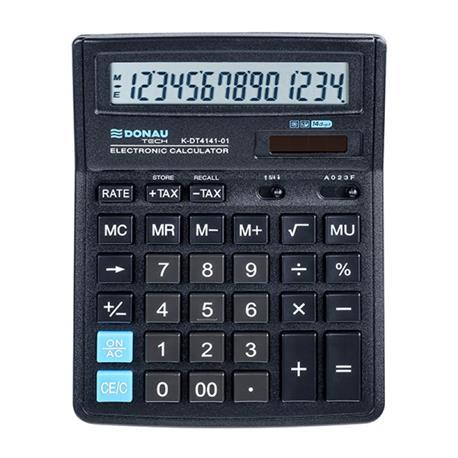 Kalkulator Donau Tech K-DT4141-01 biurowy 14 p.-26481