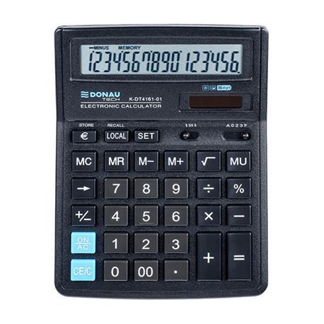 Kalkulator Donau Tech K-DT4161-01 biurowy 16 p.-26511