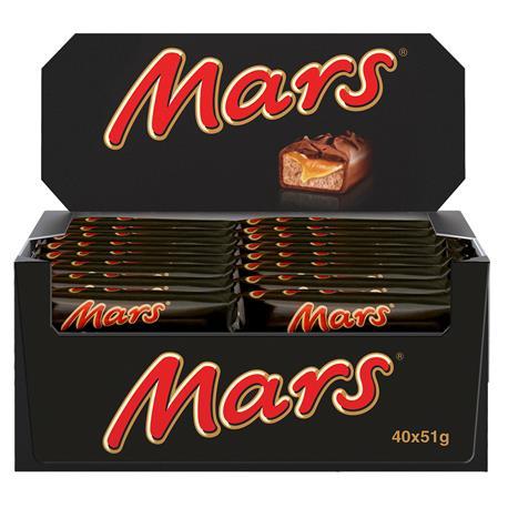 Baton Mars 51gx40 szt.-26659